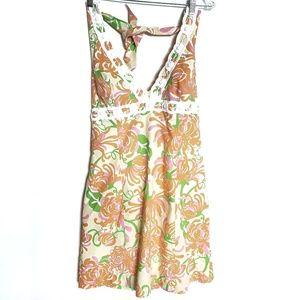 Lilly Pulitzer Halter Midi Dress Size 14